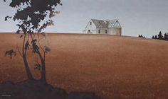 Brian Dahlberg   #Art #Landscape #Oil #Painting #NewZealand