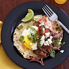 Eggs Barbacoa Recipe food recipes, eggs, breakfast, egg barbacoa, cooking light, brunch, healthy recipes, recipe finder, cook light