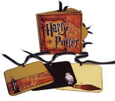 Harry Potter Paper Bag Scrapbook -  Photo Album