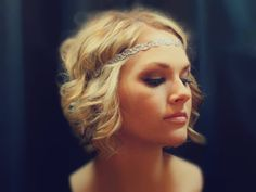 Metalic Gold or Silver Boho Headband by AliceInBloom on Etsy, $5.00  This is one of my favorites!