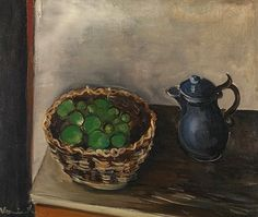 Maurice de Vlaminck, Still Life with Apples