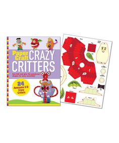 Take a look at this Crazy Critters Paper Craft Kit on zulily today!