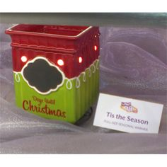 So cute! Christmas Countdown Warmer, definately a must!  http://KatieThomas.Scentsy.Us