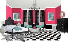 """Teen's Bedroom Idea!"" by mbtherrell on Polyvore"