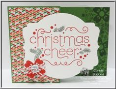 Stampin' Up! Cheerful Christmas Stamp set