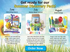 Summer Discovery Pack - Green Kid Crafts