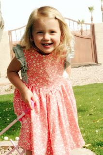A Couple of Craft Addicts: Spring Bloom Dress