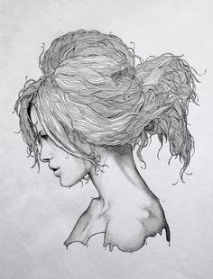 Damp hair. // Loviu, by Grzegorz Domaradzki.