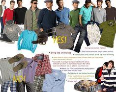 Senior boy what to wear for senior portraits