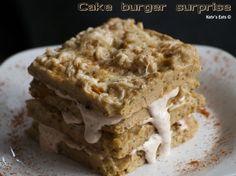 Cake salé surprise façon burger