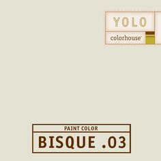 YOLO Colorhouse BISQUE .03 - The color of a raw linen canvas.  Put in a farm kitchen with reclaimed wood cabinets and rod iron pulls.