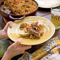 Cassoulet with Bacon, Andouille, and Country Ribs Recipe Coastalliving.com