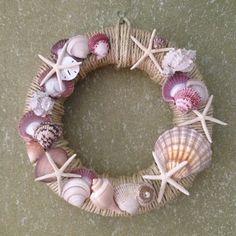 Rope and Seashell Wreath