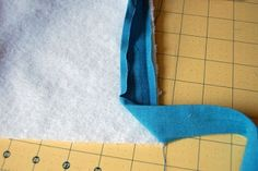 Sew to Speak: How To: Attach Bias Tape (with mitered corners)