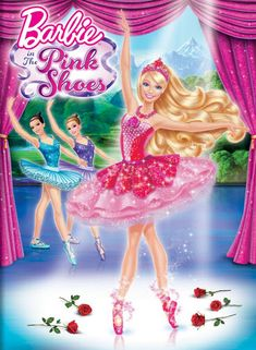 Barbie plays a ballerina in new animated  film, Barbie in the Pink Shoes