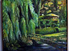 A landscape painting.