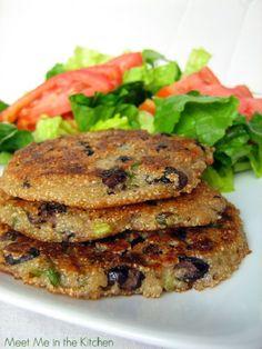 Recipe for Amaranth Black Bean Patties site has 25 amaranth recipe links