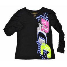 Rocawear Girls Long-Sleeve Moto Shirt $9.99