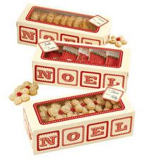 Noel Rectangle Treat Box Kit by Wilton 415-0359