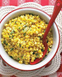 Corn and Scallion Salad Recipe