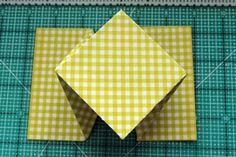 Diamond Fold card Tutorial - Splitcoaststampers