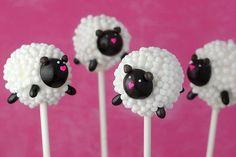 baptism : sheep cakepops
