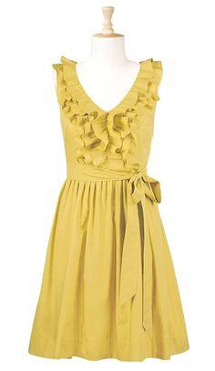 #  Yellow Dress #2dayslook #fashion #nice #YellowDress  www.2dayslook.com