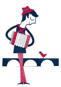 Parisian Print Series via Blanca Gomez