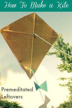 how to make a kite, kites for kids to make