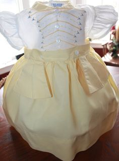 VTG 1940's Pixie Hand Finished Baby Dress in by PerfectlyVintaged, $14.99