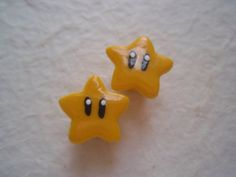 Invincibility star gauged earrings by ladydemeter on Etsy, $10.00