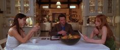 Breakfast nook in the Kitchen from the house in the movie Practical Magic.
