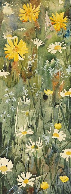 Augusto Giacometti Flower Study 1896 - still life quick heart