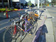 Colorful Oakland street scene
