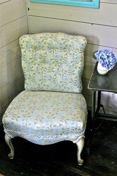 Cinderella Slipper Chair -- desk chair?