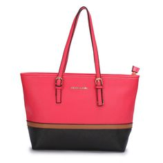 Big Discount Michael Kors Jet Set Travel Large Fuchsia Totes With Top Material Online Sale For You! #MKTimeless #NYFW | See more about michael kors jet, kors jet set and totes.