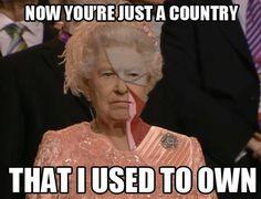 Poor Queen...