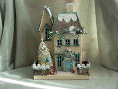Christmas Village - White Home
