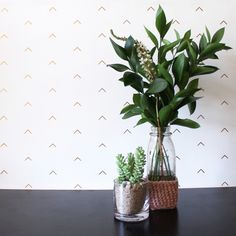 If the idea of wallpaper sends you running from your Grandmother's house, you have not seen the beautiful options from Grow House Grow. Artist inspired prints breathe new life into the classic wall-coverin