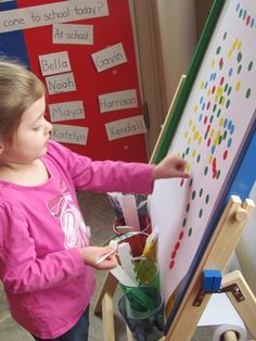 what a great center for fine motor development!