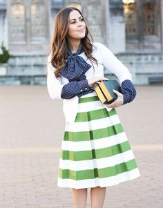 The Awning Skirt :: Green