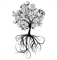 tattoo idea, tattoos tree back, back tattoos tree, tree back tattoos, key tree tattoo, tree tattoos with names, tree tattoos roots, kids name tattoo on back, tattoos tree of life
