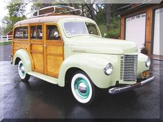 1941 International Woody Wagon