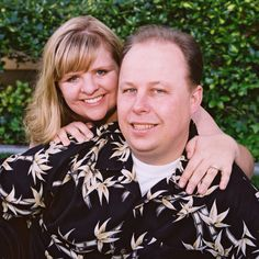 My husband Robert and I
