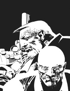 Marv and Dwight by Frank Miller