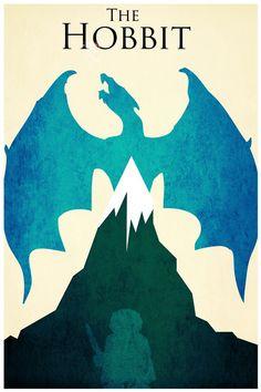 Minimalist Movie Poster - The Hobbit