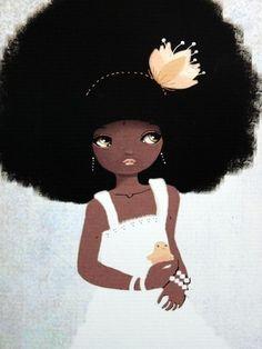 Beautiful African girl!