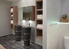 Landelijk moderne badkamer on Pinterest  Bathroom