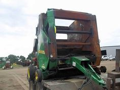 John Deere 567 hay equipment salvaged for used parts. Call 877-530-4430. We buy salvage farm equipment. 7 salvage yards in the Midwest. http://www.TractorPartsASAP.com