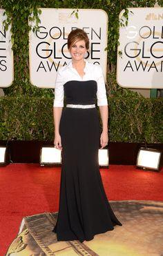 Julia Roberts at the Golden Globes.